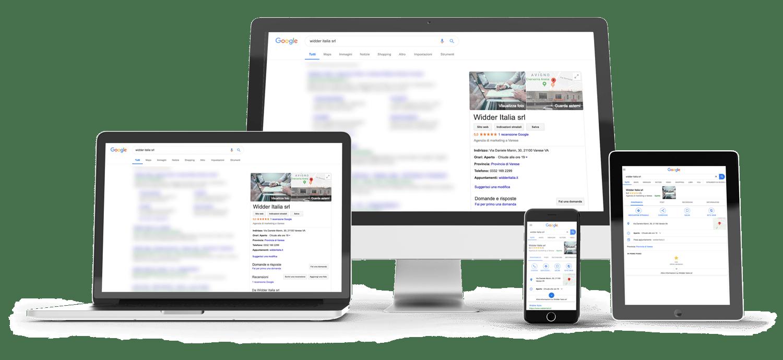 Dispositivi Google My Business